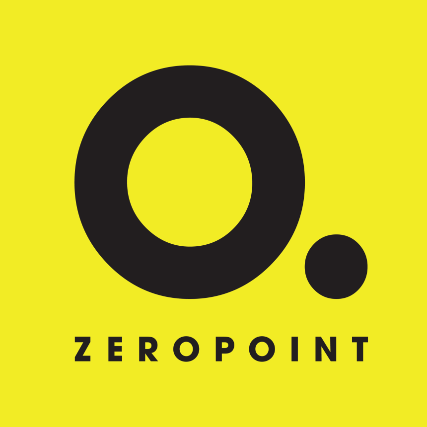ZEROPOINT - SQUARED ICON LOGO - YELLOW