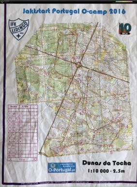 2016-02-08. Pass 7. Dunas da Tocha. Jaktstart