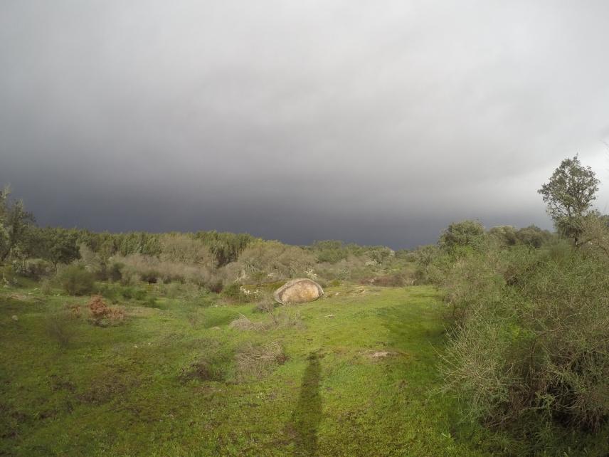 Stormen är på väg in