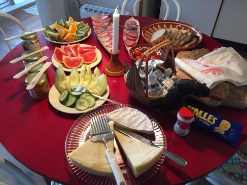 Högklassig frukost!