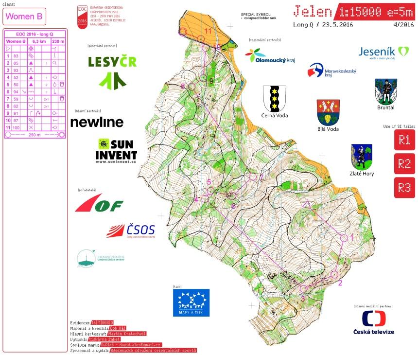 2016-05-23 EOC Tjeckien LongQ Women B