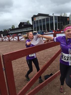 Ebba växlar ut Elin i fjärdelaget