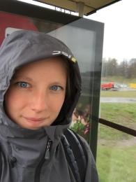 Lämnade ett grått, kallt och regnigt Stockholm...