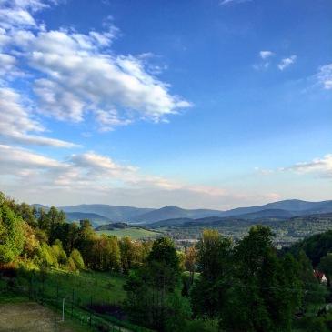 Utsikten från rumsfönstret.