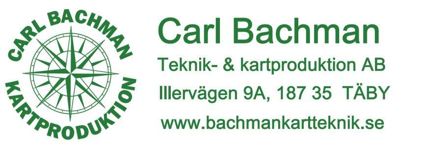 logga carl bachman kartproduktion
