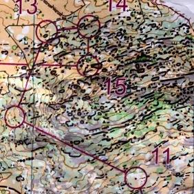 2019-02-12 Spanien Pass 10 Stafetträning jaktstart
