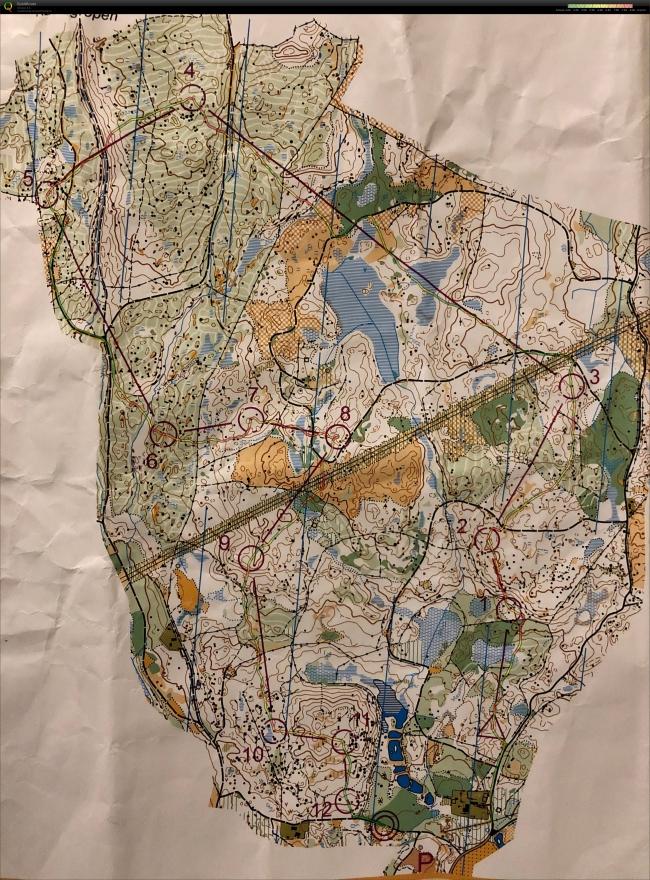 2019-03-02 Sverigepremiären stafetträning Masstart