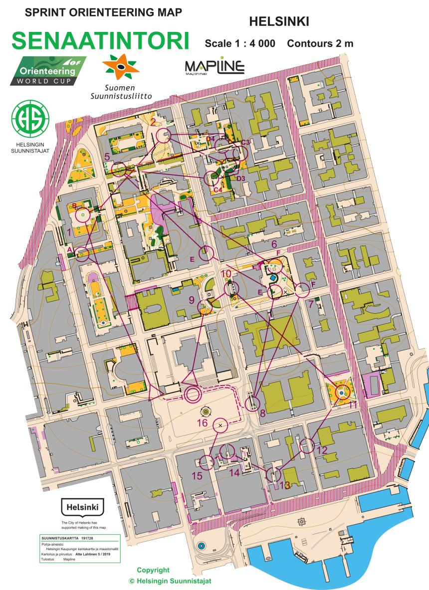 2019-06-11 WC Finland Sprintstafett