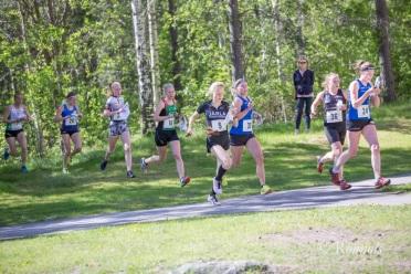 På väg in mot varvningen. Foto: Lars Rönnols.