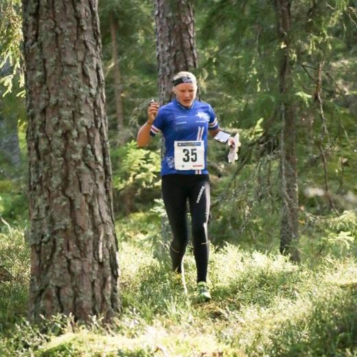 Långdistansfinal. Foto: Lars Gustafsson
